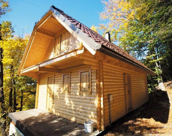 Massive moderne Holzhäuser