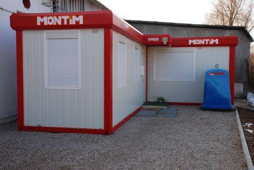 Container als Büro