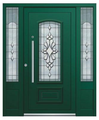 Eingangstüren mit seitenteil  Günstige Alu-Haustüren (Eingangstüren) mit oder ohne Seitenteil