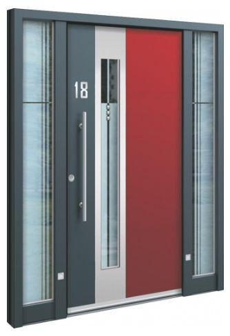 Haustüren Anthrazit konfigurieren
