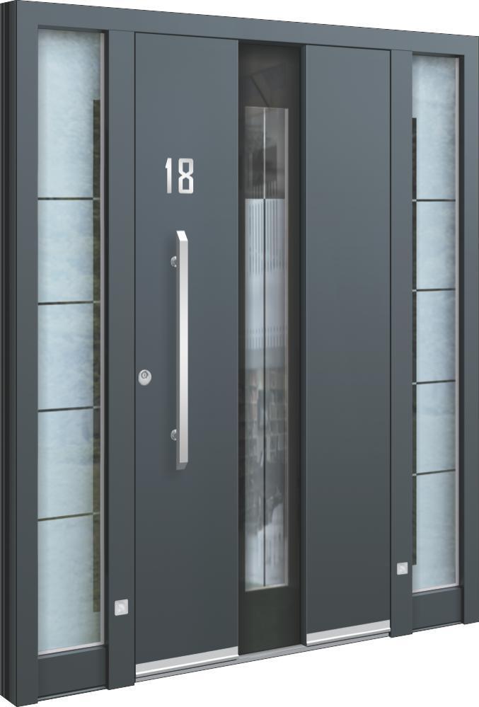 haust ren glas aluminium haust ren mit glas oder. Black Bedroom Furniture Sets. Home Design Ideas