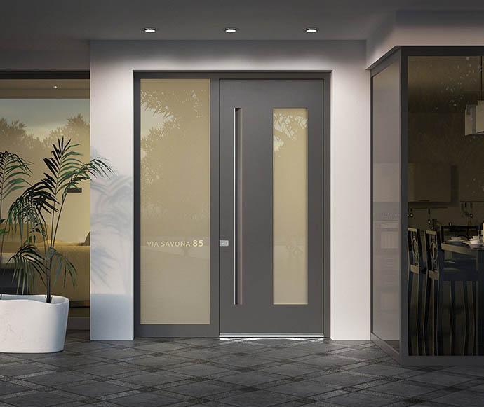 Schüco Aluminium Sicherheit Haustüren