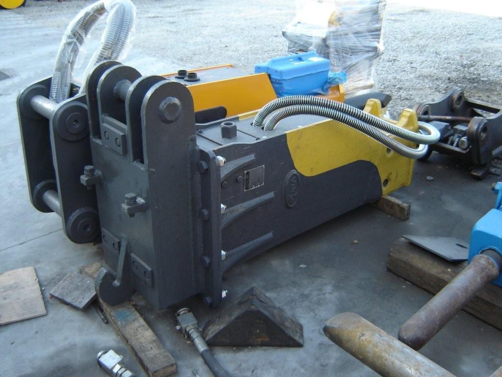 Minibagger Hydraulikhammer Krupp