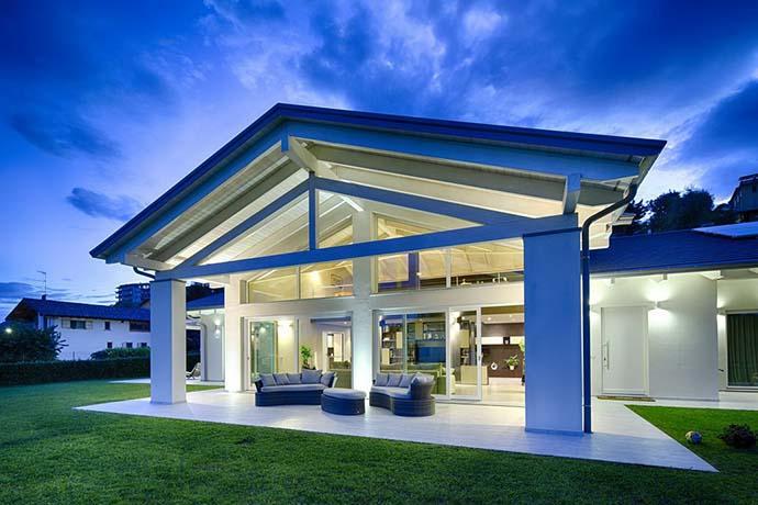 Moderne Fachwerkhäuser Glas bauen