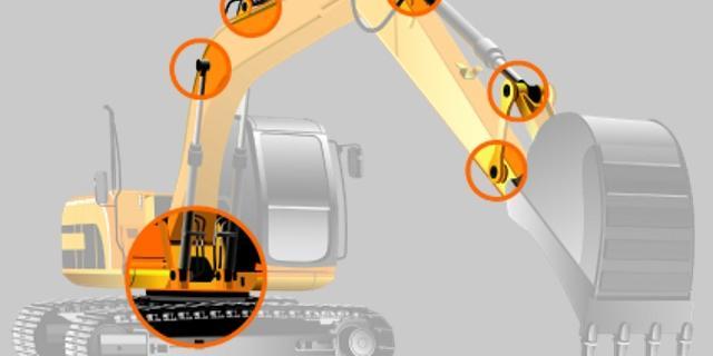 Bolzen für Arbeitsmaschinen bei Kovan