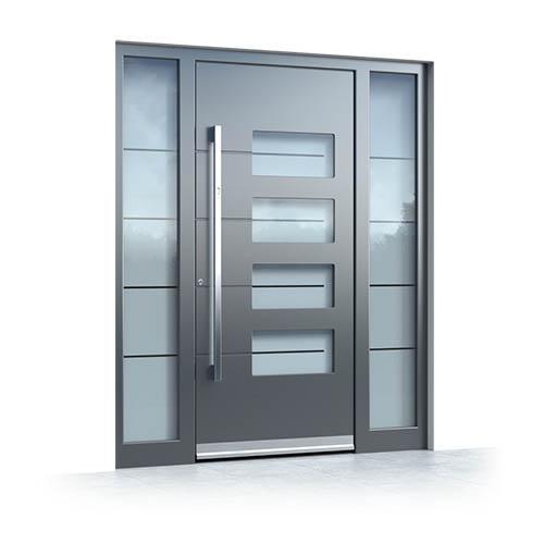 Alu Haustüren mit Seitenteil 9410