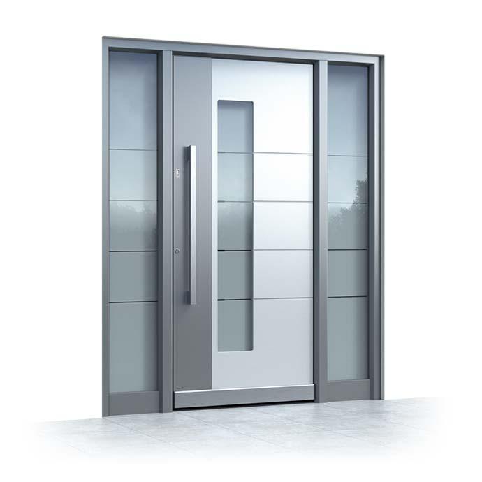 Aluminium Haustür Ganzglas Online
