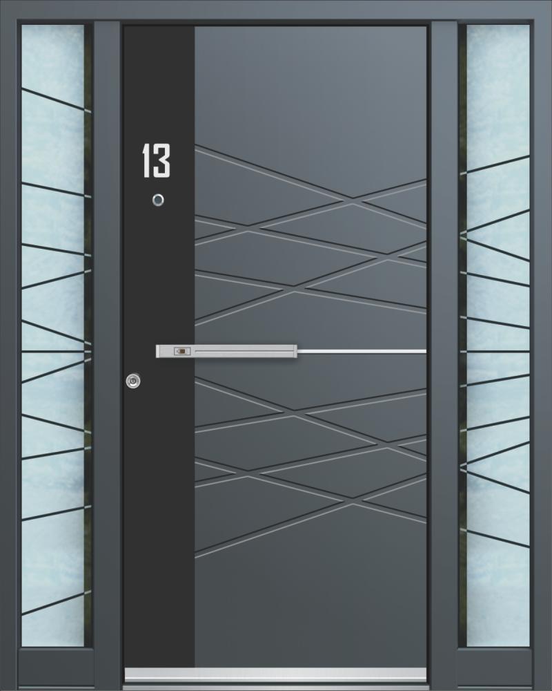 hochwertige Aluminium-Türen