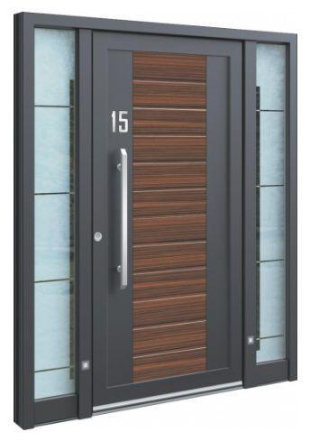 eingangst ren aluminium zum guten preis bei inotherm kaufen. Black Bedroom Furniture Sets. Home Design Ideas