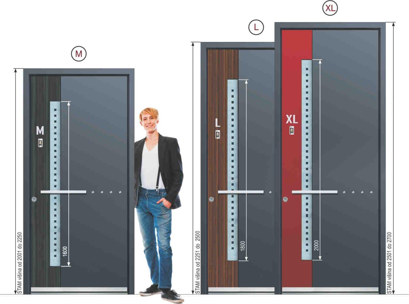 Haustüre Aluminium oder Stahl