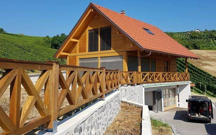 Holzfertighaus Preis schlüsselfertig - ür faire Preise modernes Holzhaus