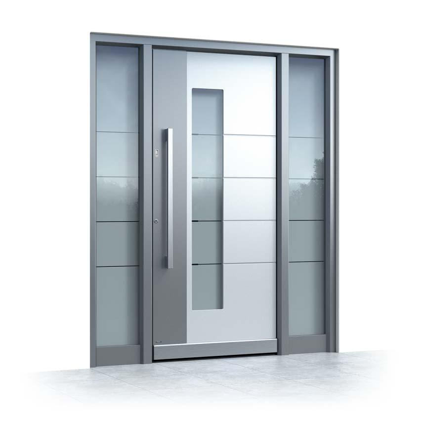 Wenn Sie eine weiße oder graue Haustür suchen, finden Sie sie hier