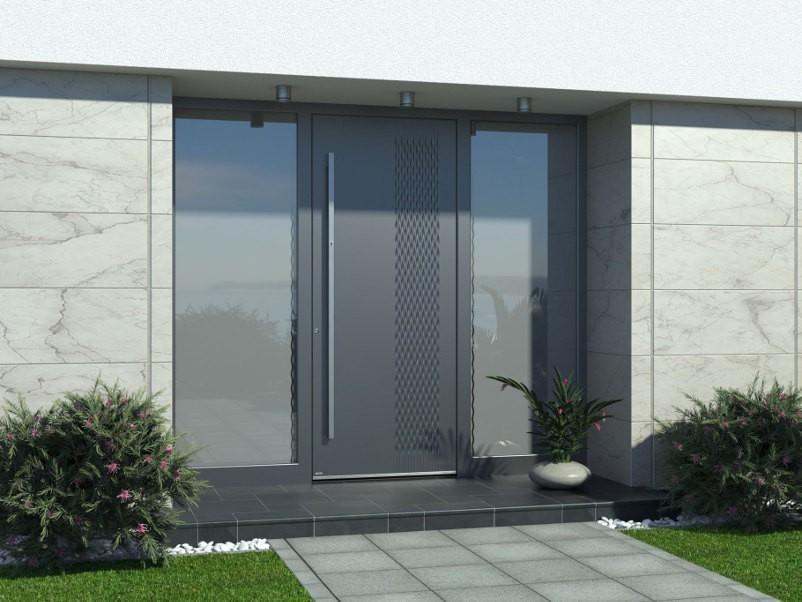 aluminium haustüren nach maß design
