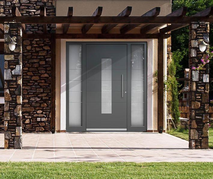 aluminium außentür