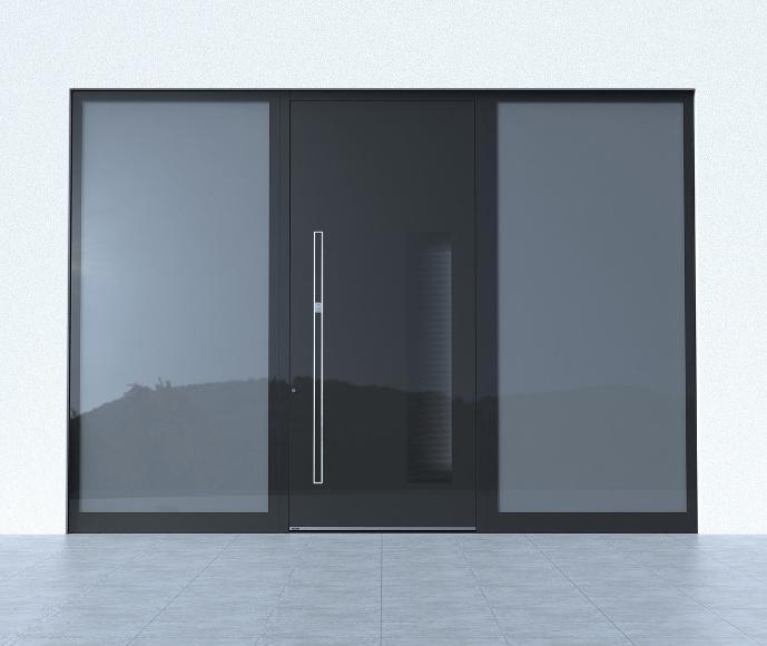 haust r sicherheitsschl sser alu haust ren mit mehrfachverriegelung. Black Bedroom Furniture Sets. Home Design Ideas