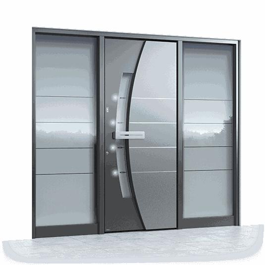 Haustüre Aluminium Pirnar