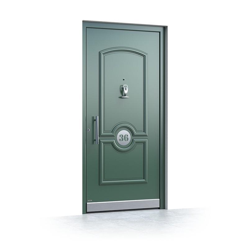 aluminium Haustüren Grün