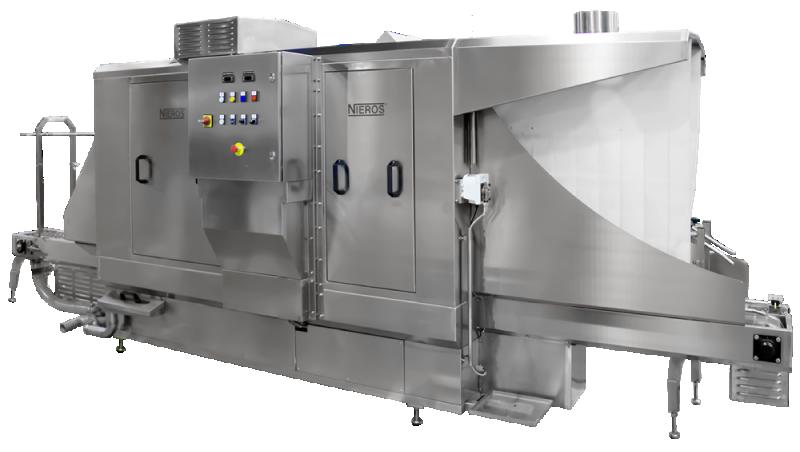 Nieros bietet industrielle Waschanlagen für alle Industriezweige