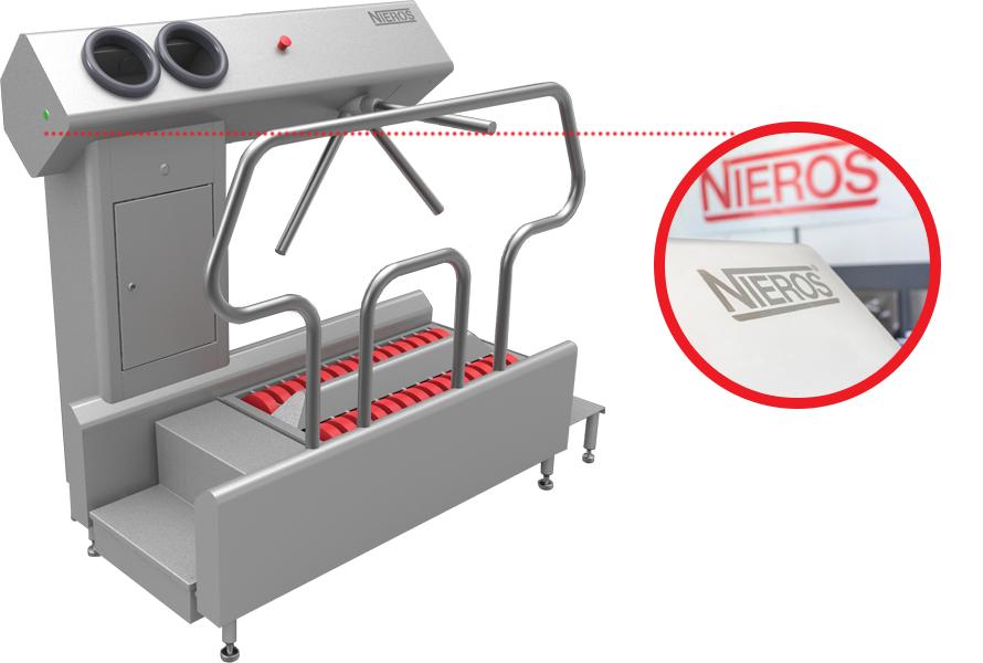 Moderne und effiziente Hygienestationen