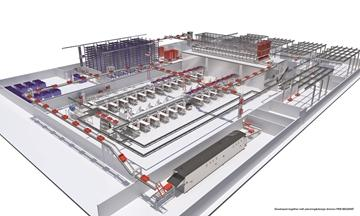integrierte Logistik für Unternehmen