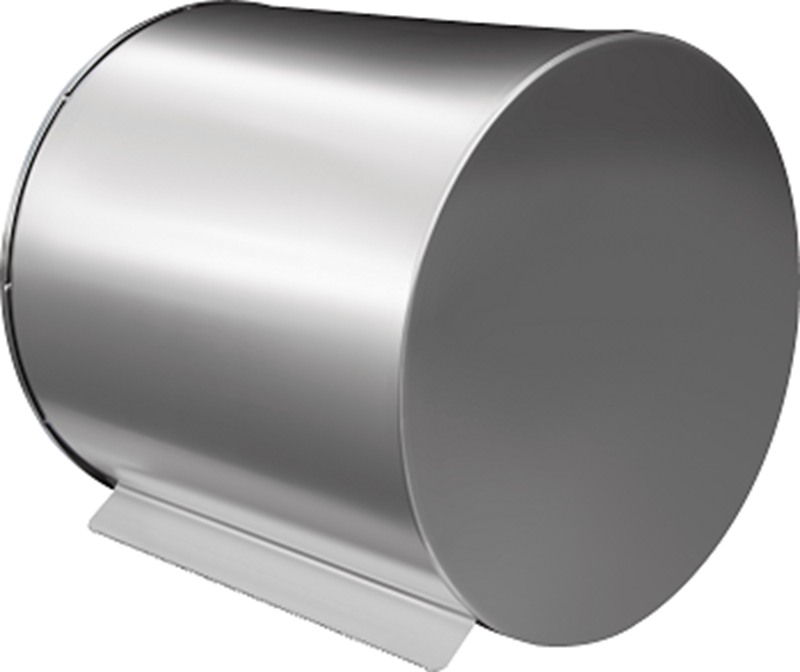 Papierrollenhalter PRH ist mit einem Zahnradsystem ausgestattet, welches ein leichteres Abreißen des Handtuchs ermöglicht
