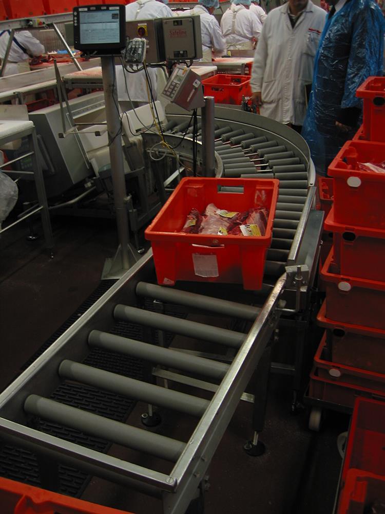 Rohrbahn Fleischerei Geräte