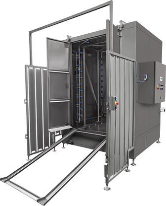 Unsere Industriewaschanlagen und Waschanlagen wie eine Kabine Waschmaschine genügen den höchsten Anforderungen in der Branche – den Verkauf checken.