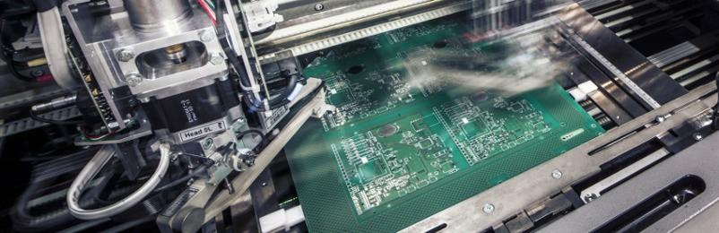 SMD Bauelemente Produktion