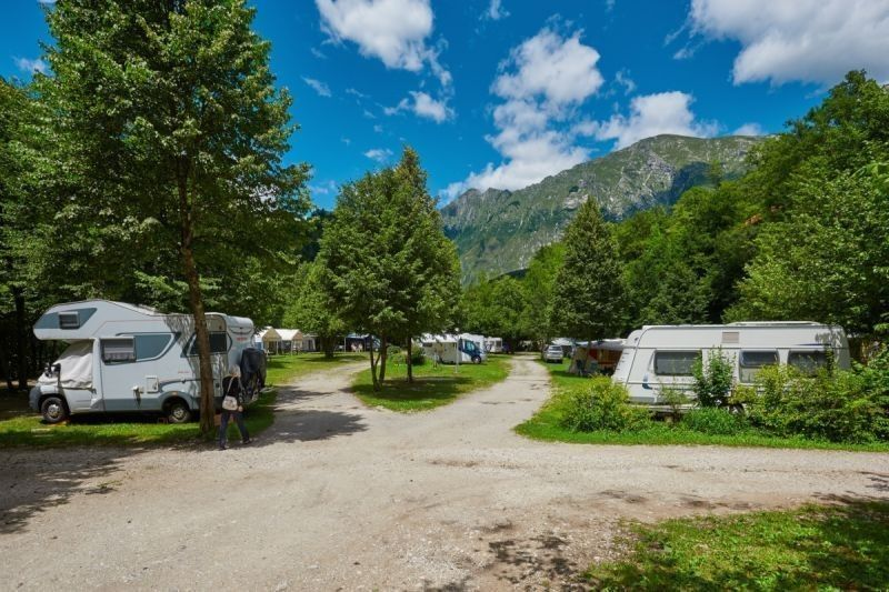 Natur campingplatz Slowenien