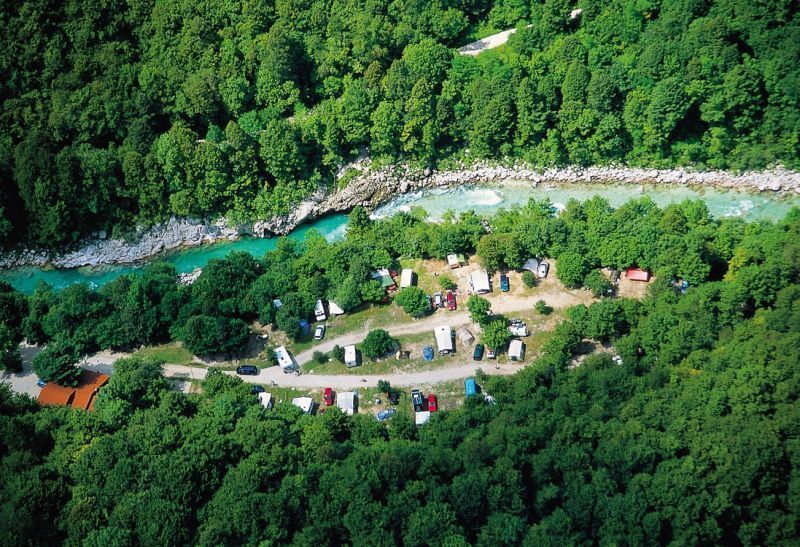 Campingplatzes Koren in Kobarid
