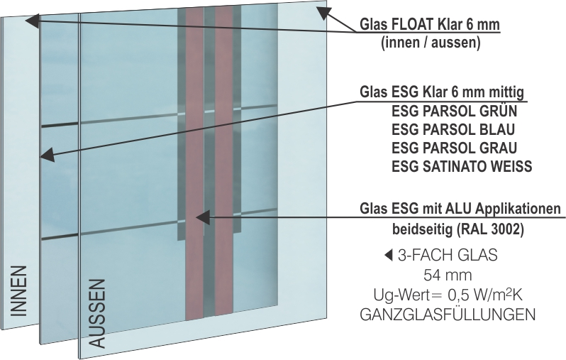 haust ren glas innovative designs r jeden geschmack. Black Bedroom Furniture Sets. Home Design Ideas