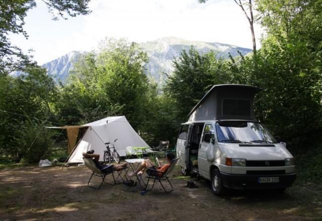 Campingplatz Slowenien